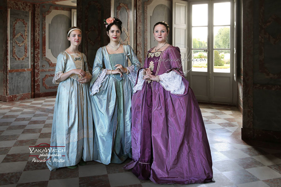 Costumes historiques au Château de Rambouillet