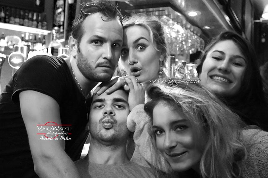 Une soirée au bar le Cristal - Paris