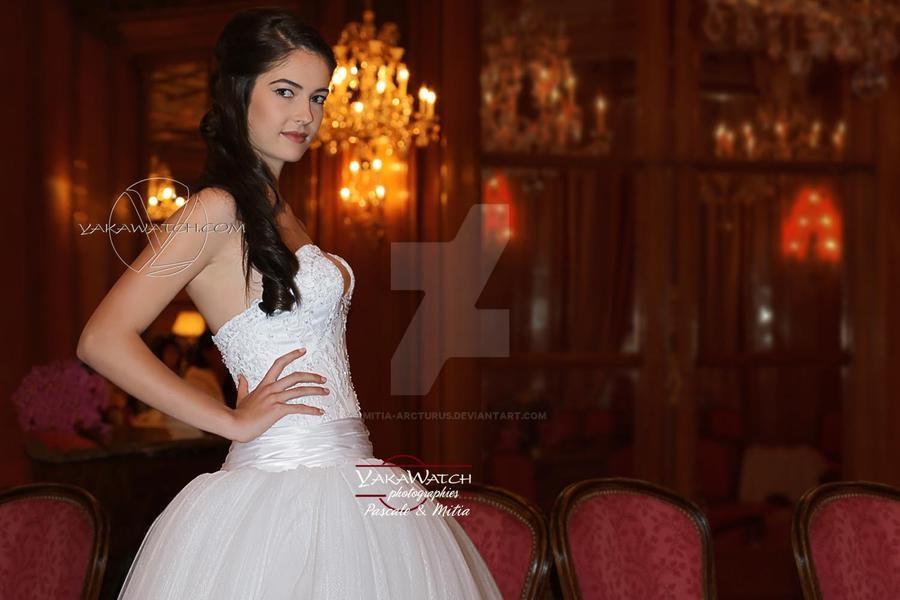 Défilé couture Robe de mariée Salon Bristol Paris