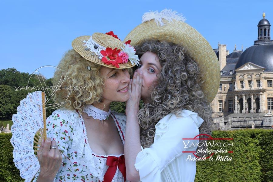 Vaux le Vicomte le secret d'une journée grand siècle en costumes historiques