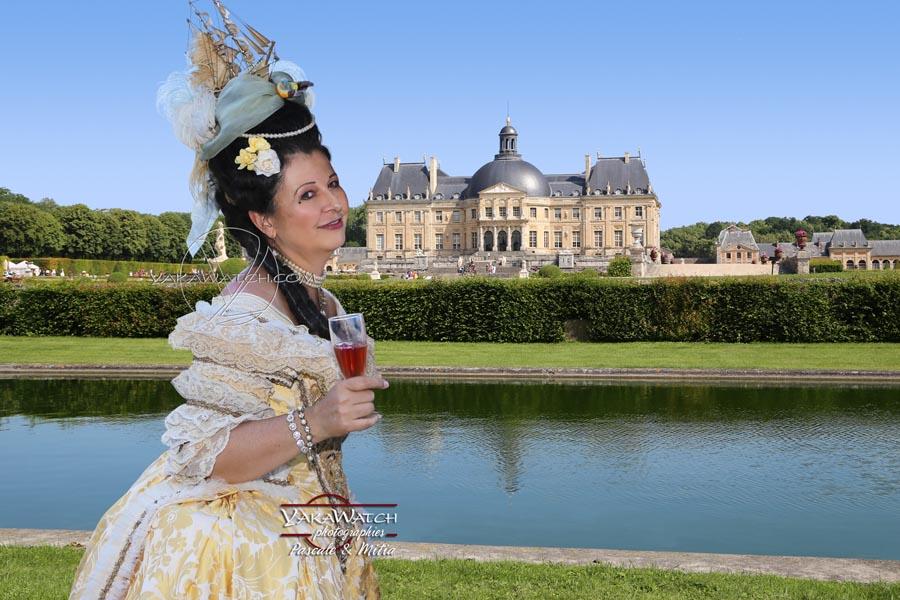 La journée grand siècle en costume historique au château de vaux le vicomte