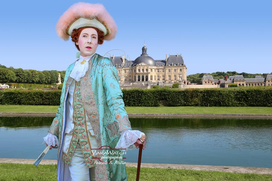 Vaux le Vicomte l'éléganced'une journée grand siècle en costumes historiques