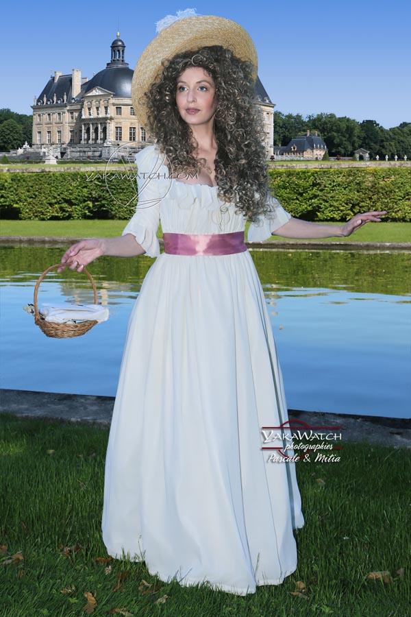 Promenade au Château de Vaux le Vicomte la journée grand siècle en costume historique