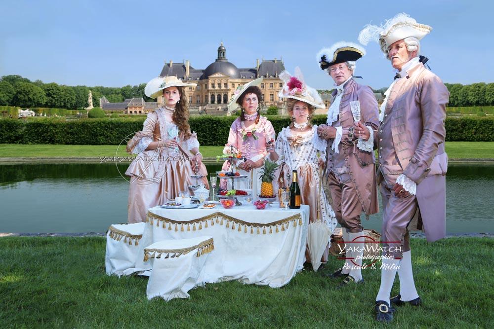 Une journée grand siècle à Vaux le Vicomte déjeuner dans le parc-photo-yakawatch