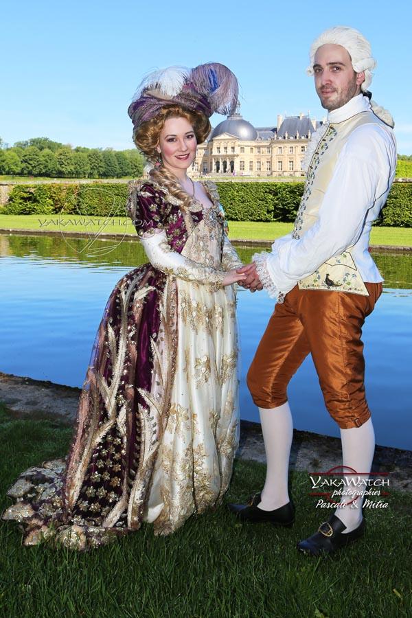 Une journée grand siècle en costume historique dans les jardins de vaux le vicomte