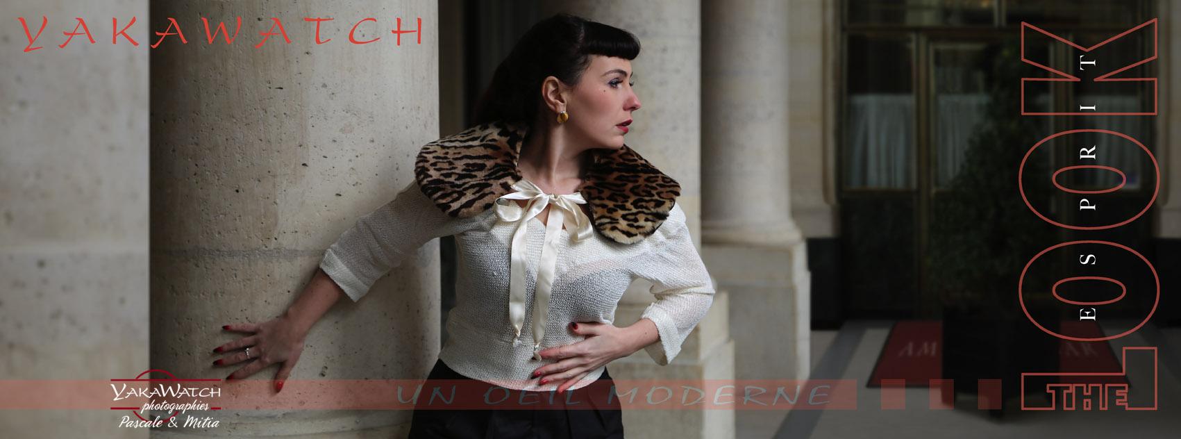 Portrait au Palais Royal - Mitia-Arcturus Photographe