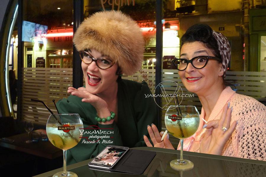 After Hours in Paris - Bar de nuit - Portraits lifestyle